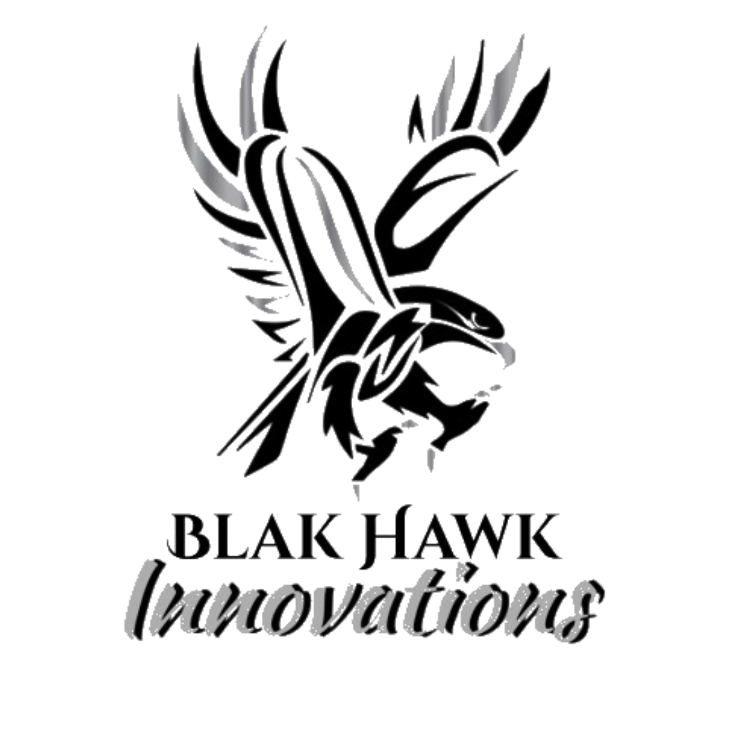 Blak Hawk Innovations - Made with PosterMyWall